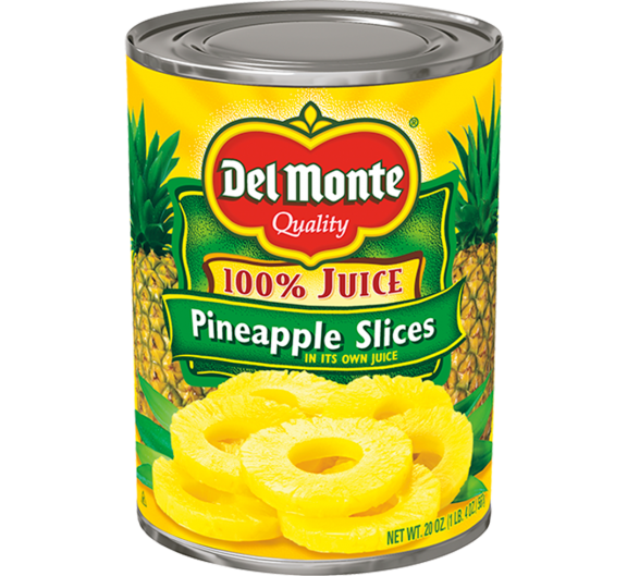 Del Monte® Sliced Pineapple in Juice