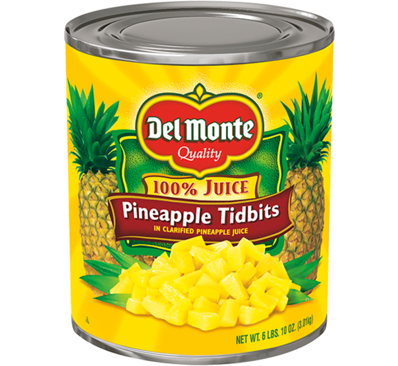Del Monte® Pineapple Tidbits in Juice