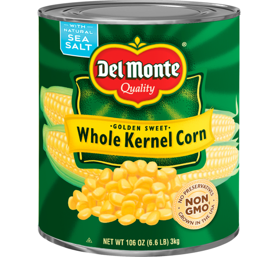Del Monte® Golden Sweet Whole Kernel Corn