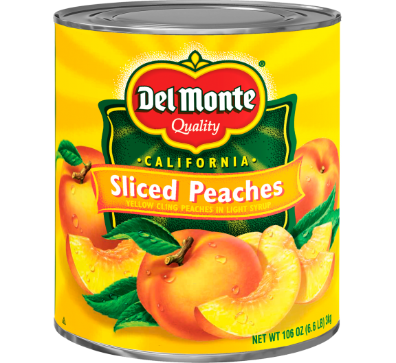 Del Monte® Sliced Yellow Cling Peaches in Light Syrup
