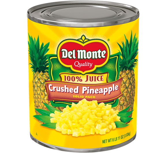 Del Monte® Crushed Pineapple in Juice