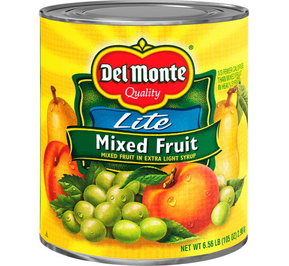 Del Monte® Lite Mixed Fruit in Extra Light Syrup