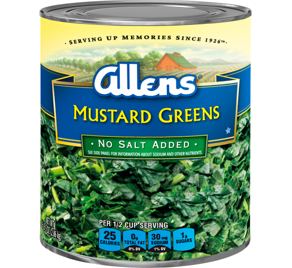 Allens® Mustard Greens - No Salt Added
