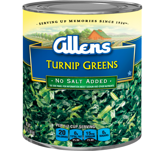Allens® Turnip Greens - No Salt Added