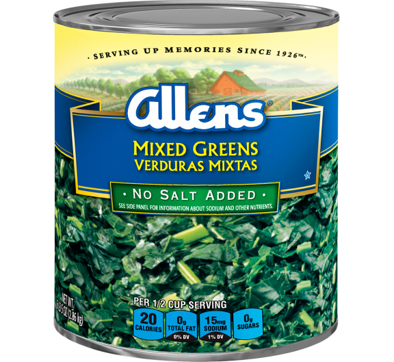 Allens® Mixed Greens - No Salt Added