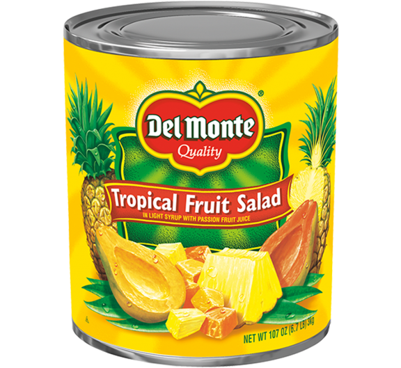 Del Monte® Tropical Fruit Salad LS & Passion Fruit Juice