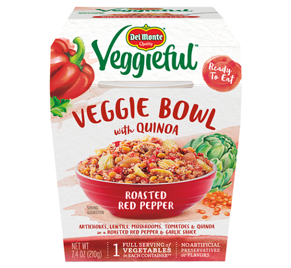 Veggieful™ Veggie Bowls Roasted Red Pepper with Quinoa