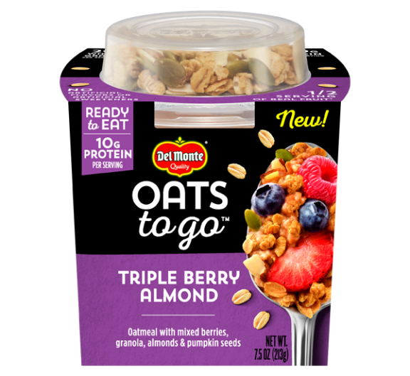 Oats to Go™ Triple Berry Almond