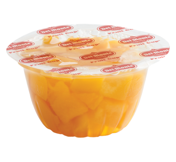 Del Monte® Fruit Cup® Diced Peaches in 100% Juice