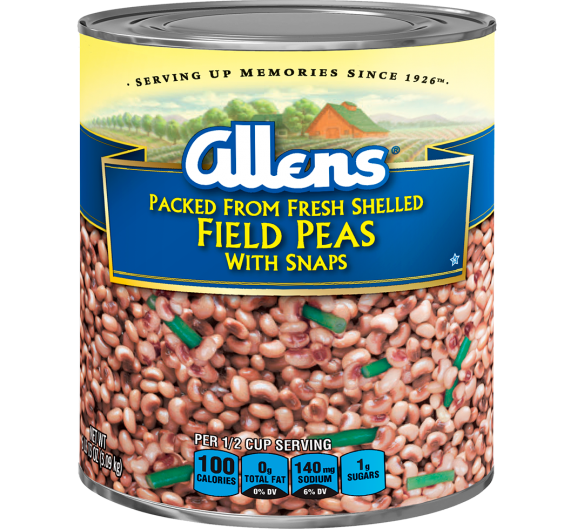 Allens® Packed from Fresh Shelled Field Peas with Snaps
