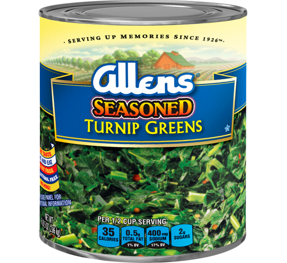 Allens® Seasoned Turnip Greens