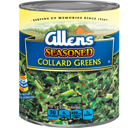 Allens® Seasoned Collard Greens