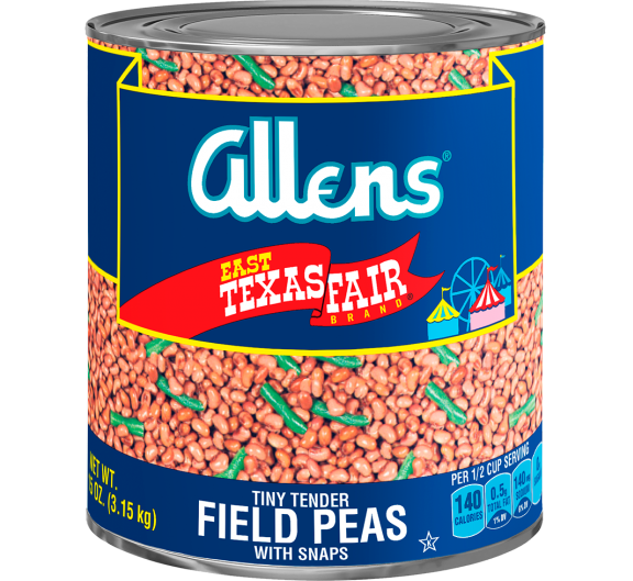 Allens® East Texas Fair® Tiny Tender Field Peas with Snaps