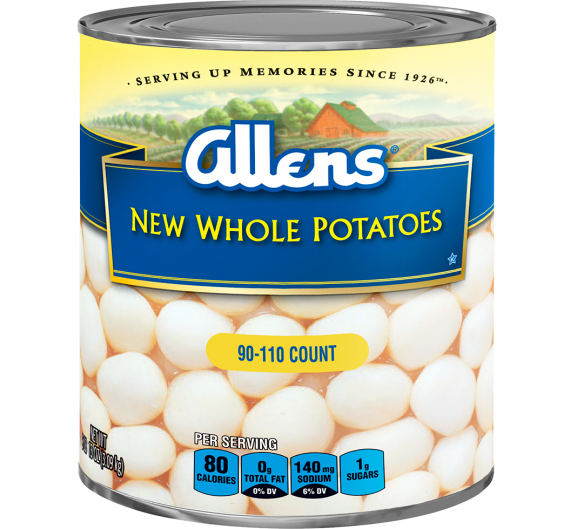 Allens® New Whole Potatoes - 90-110 Count