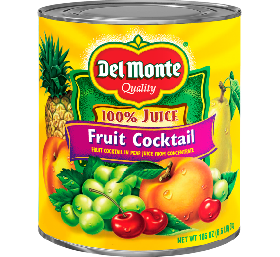 Del Monte® Fruit Cocktail in Pear Juice from Concentrate