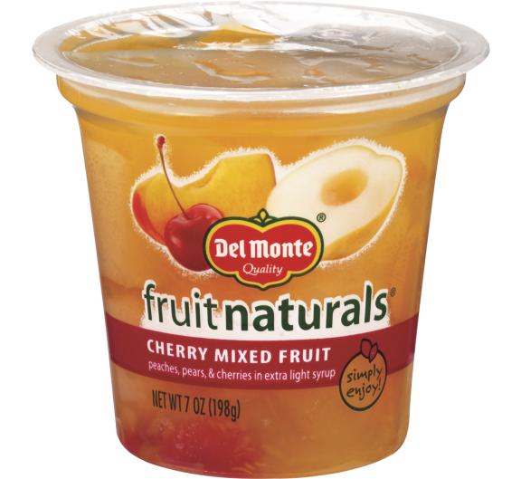 Del Monte® Fruit Naturals® Cherry Mixed Fruit in Extra Light Syrup