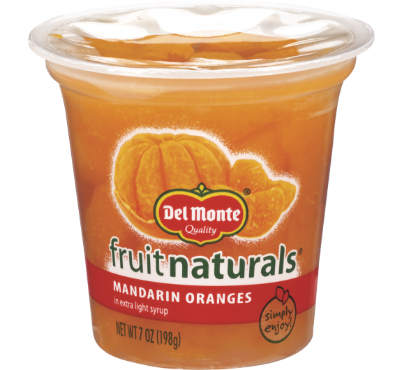 Del Monte® Fruit Naturals® Mandarin Oranges in Extra Light Syrup