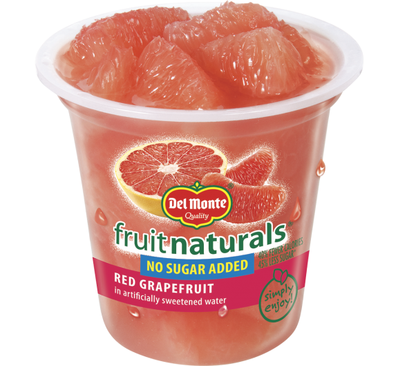 Del Monte® Fruit Naturals® No Sugar Added Red Grapefruit