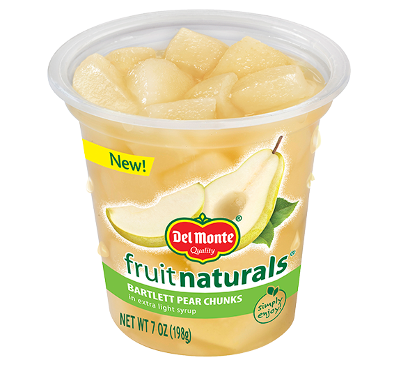 Del Monte® Fruit Naturals® Pears Extra Light Syrup