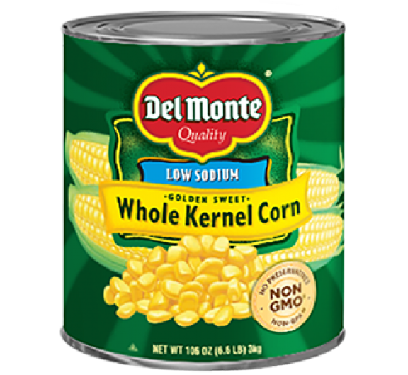 Del Monte® Low Sodium Whole Kernel Corn