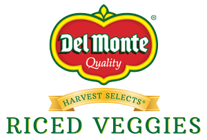 Del Monte Harvest Selects Riced Vegetables